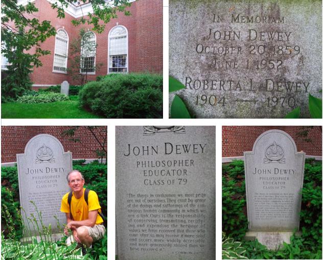 john dewey's grave site